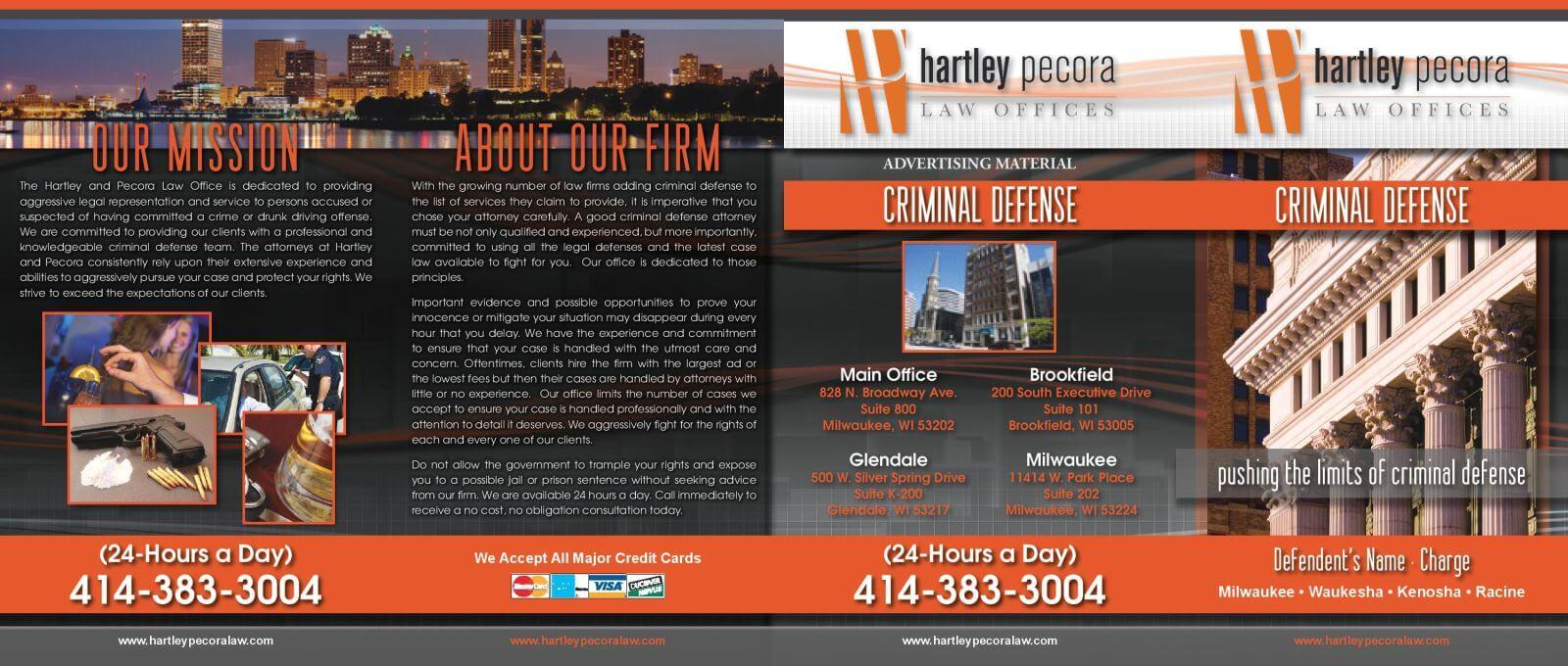 Law Firm Brochure Design | Criminal Defense Brochures