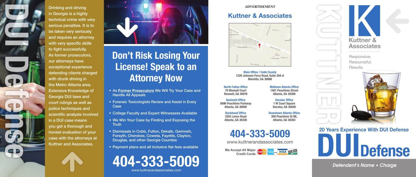 Law Firm Brochure Design Criminal Defense Brochures